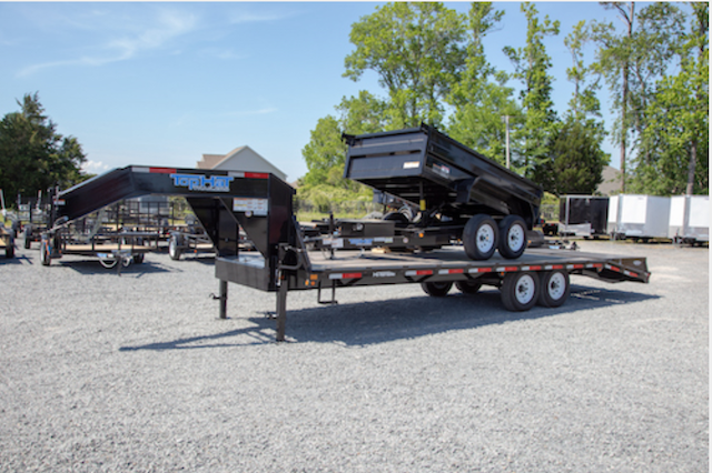 A photo of equipment trailer TOPHAT 20+5X102 GN 159