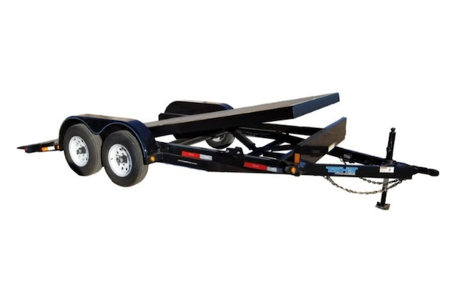 A picture of a TOPHAT THC 70 Car Hauler Trailer
